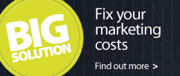 The Big Solution - Fix your marketing costs